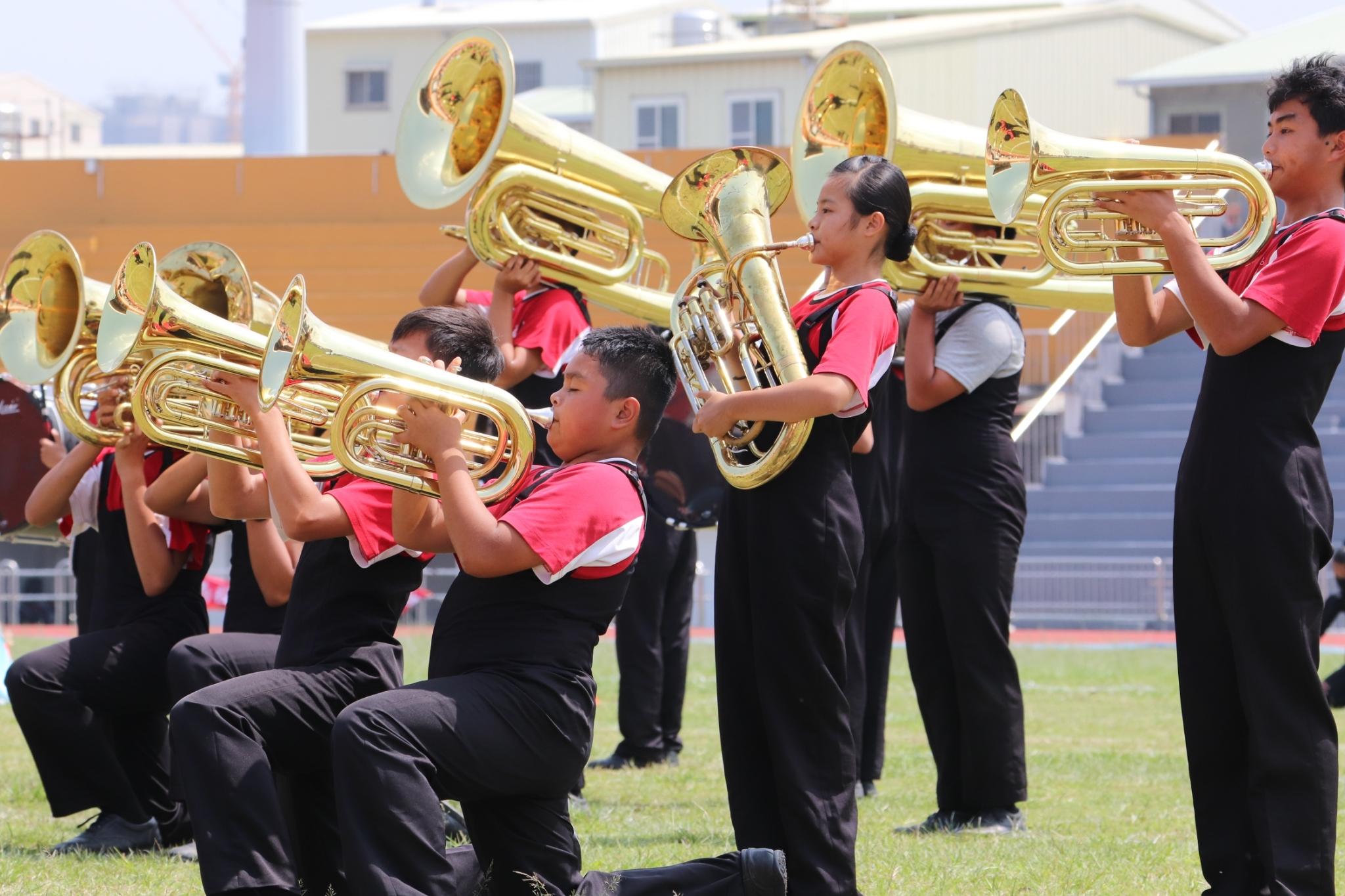 107學年全國學生音樂比賽行進管樂中區演奏花絮