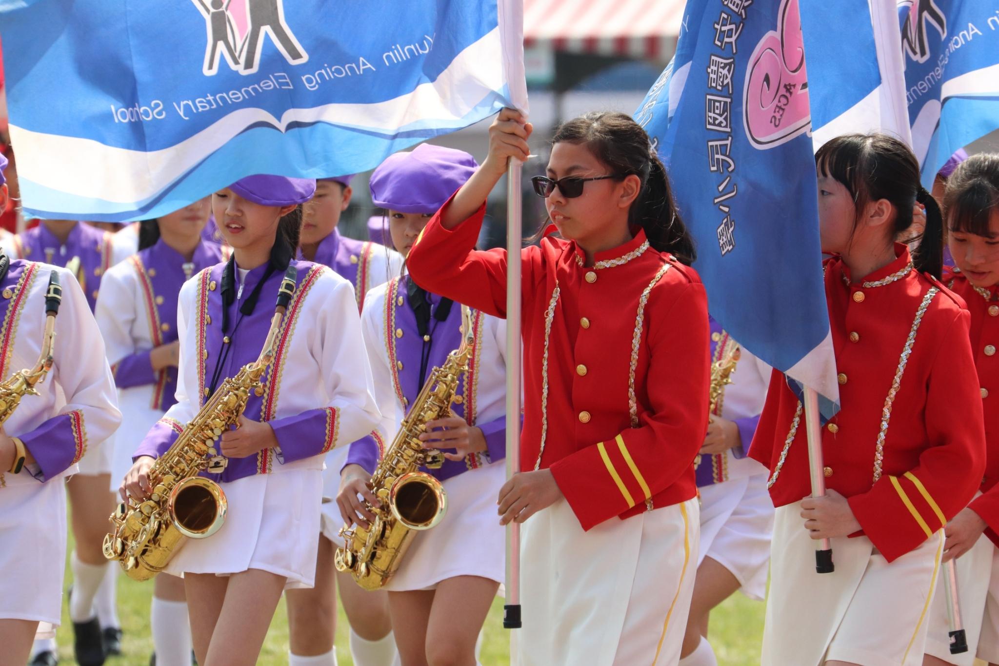 107學年全國學生音樂比賽行進管樂中區行進花絮